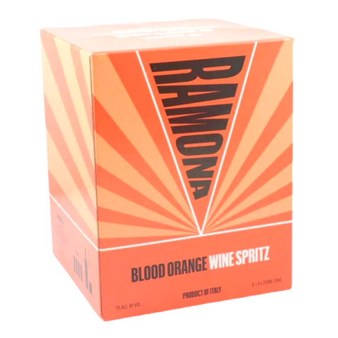 Ramona Blood Orange Wine Spritz 4pk Cans