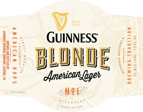 Guinness Blonde Lager 6Pk Bottles