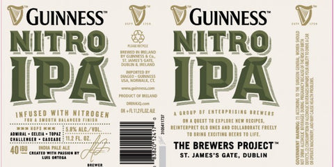 Guinness Nitro IPA 6Pk Can