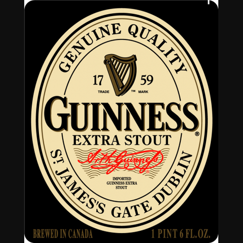 Guinness Stout 6 Pack Bottles