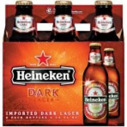 Heineken Dark 6 Pk Bottles