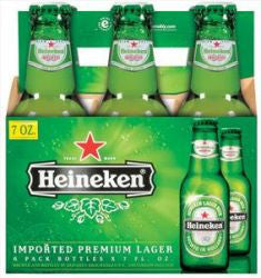 Heineken  7 Ounce 6 Pk Bottles