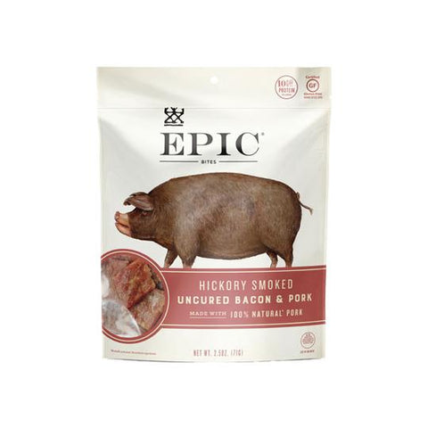 Epic Jerky Bites - Hickory Bacon