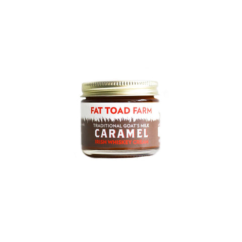 FAT TOAD CARAMEL: The Petit Caramel Jar - Irish Whiskey Cream (2oz)