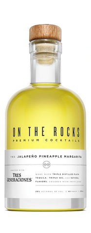 On The Rocks Jalapeño Pineapple Margarita (375ML)