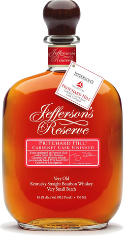Jeffersons Reserve Pritchard Hill Bourbon
