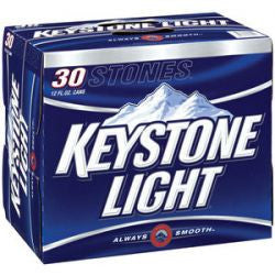 Keystone Light 30 Pk Can