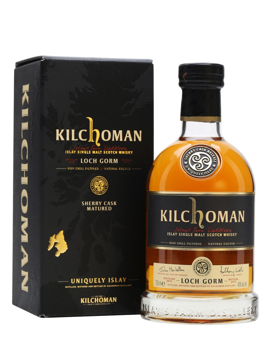 Kilchoman Single Malt Scotch Loch Gorm 2015 Sherry Cask