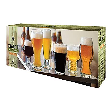 Libbey Craft Brews 6pk Assorted