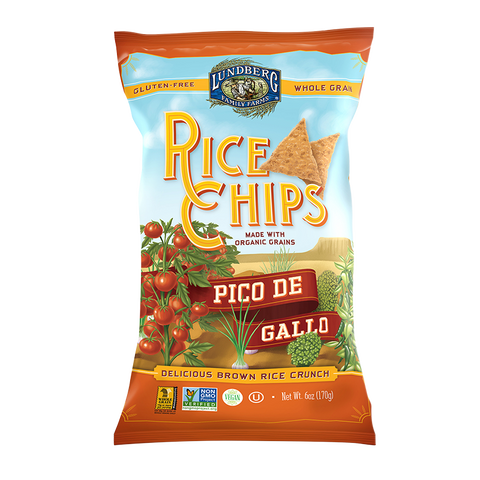 Lundberg Rice Chips Pico De Gallo
