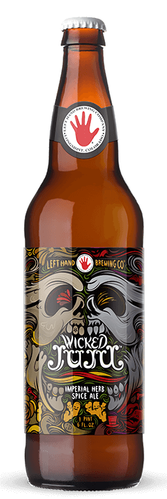 Left Hand Wicked Juju Imperial Giner Pale Ale 22Oz