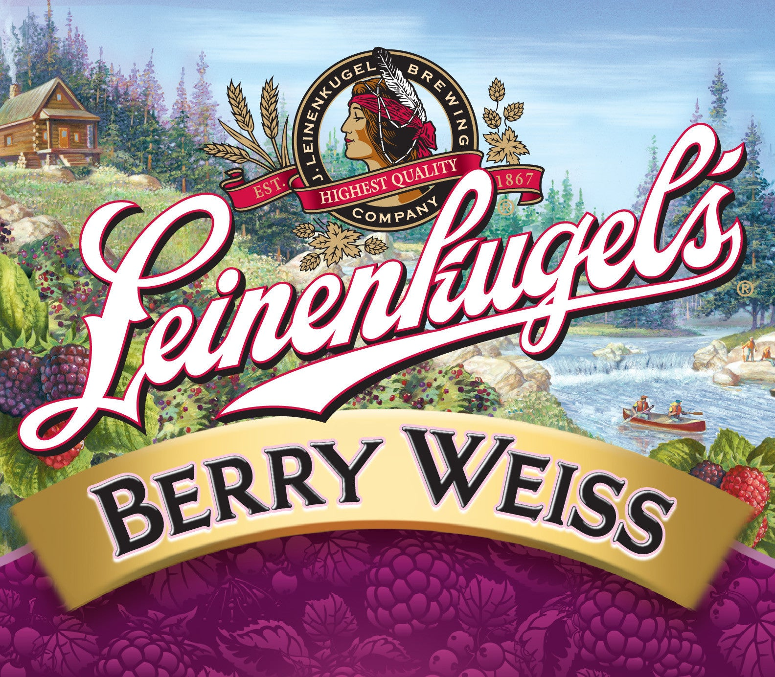 Leinenkugels Berry Weiss 6Pk Bottles