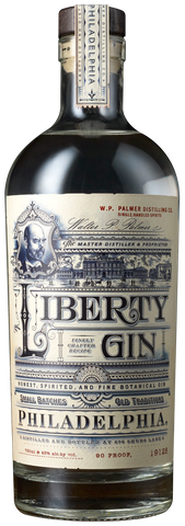 WP Palmer Distilling Co Liberty Gin