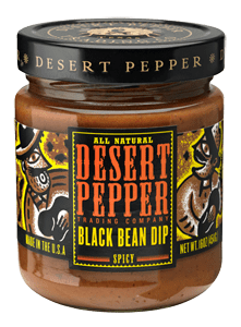 Desert Pepper Black Bean Dip