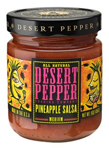 Desert Pepper Pineapple Salsa