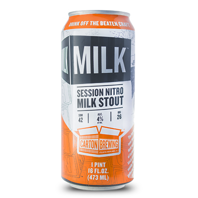 Carton Brewing Carton of Milk Session Nitro Milk Stout 4pk Cans