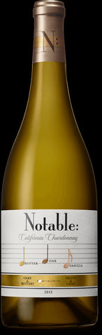 Notable California Chardonnay