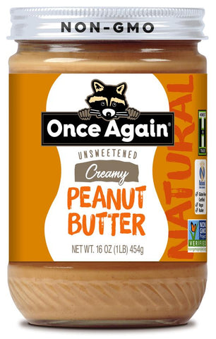 Once Again Natural Creamy Peanut Butter