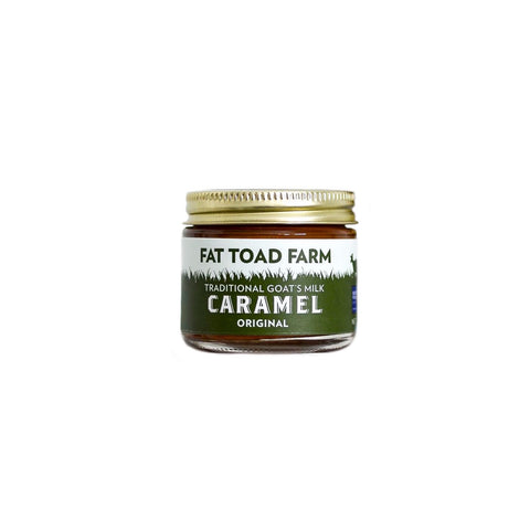 FAT TOAD CARAMEL: The Petit Caramel Jar (2oz)