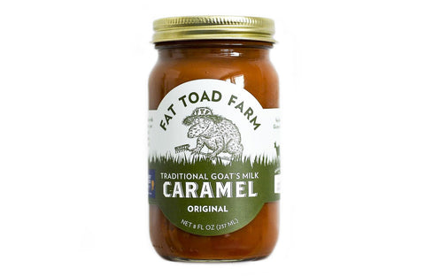 FAT TOAD CARAMEL: The Classic Caramel Jar (8oz)