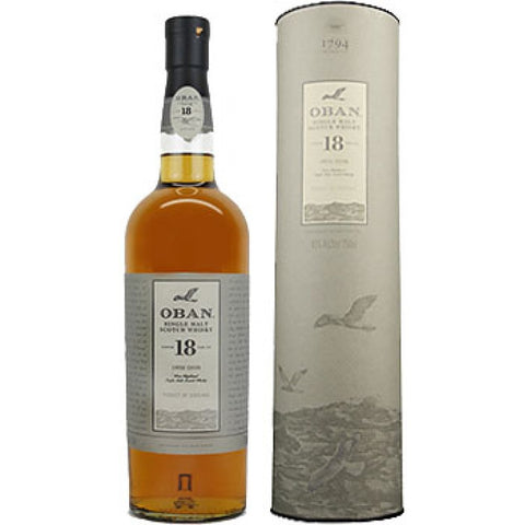 Oban 18Yr Scotch Whiskey