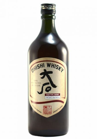 Ohishi Sherry Cask Japanese Whiskey