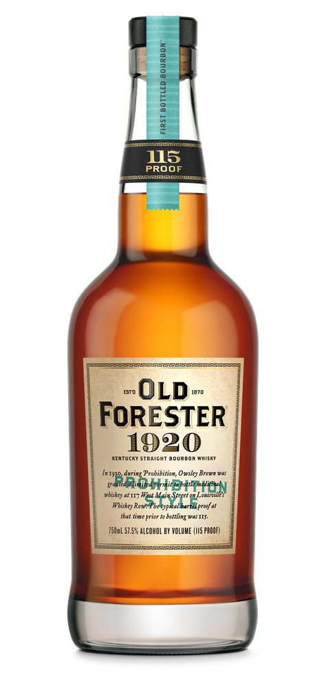 Old Forester 1920 Bourbon Whiskey