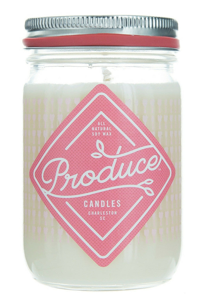 Produce Candle Rhubarb