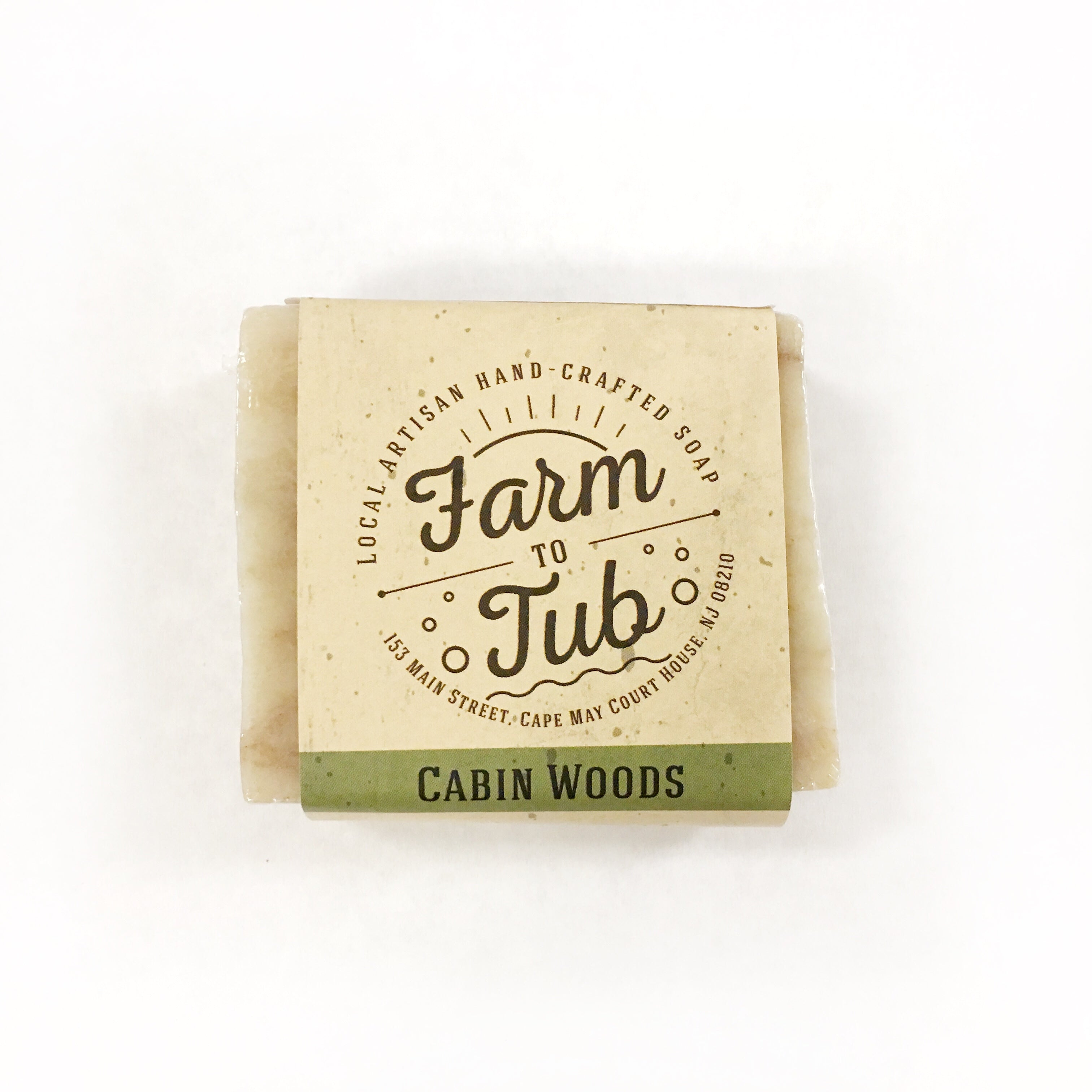 Windy Acres: Farm to Tub Soap - Cabin Woods