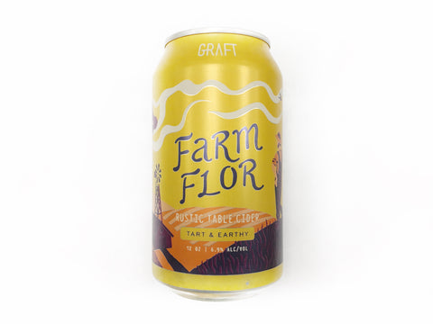 Graft Cider Farm Flor 4pk Can