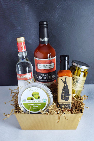 Bloody Mary Kit Gift Basket - $45