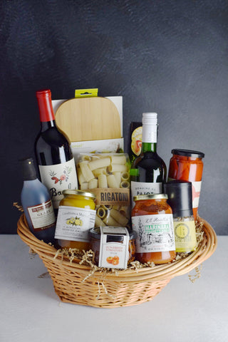 """The Cook"" Gourmet Food & Wine Gift Basket"