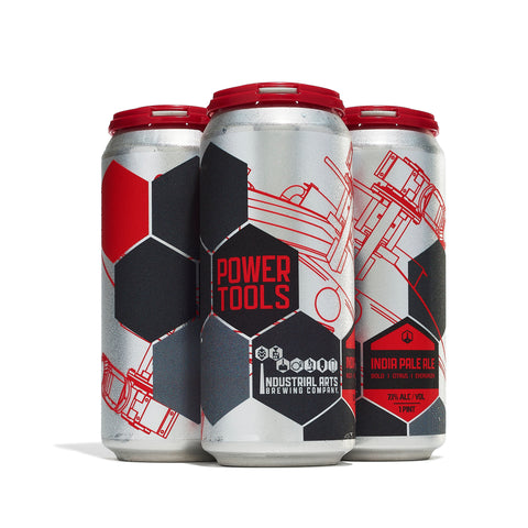 Industrial Arts Power Tools IPA 4pk Cans