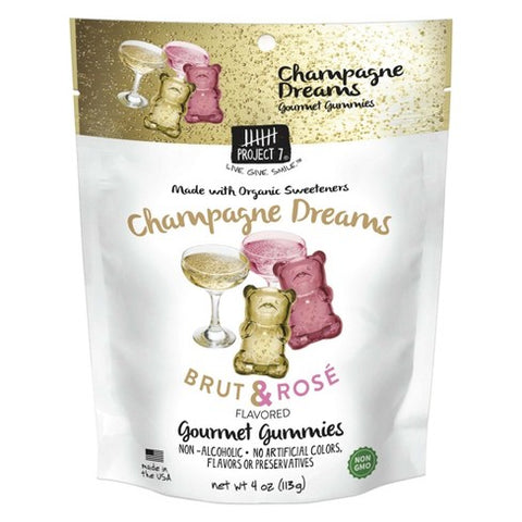 Project 7 Gummies Champagne Dreams Gummy Bears