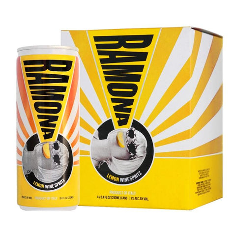 Ramona Lemon Wine Spritz 4pk Cans