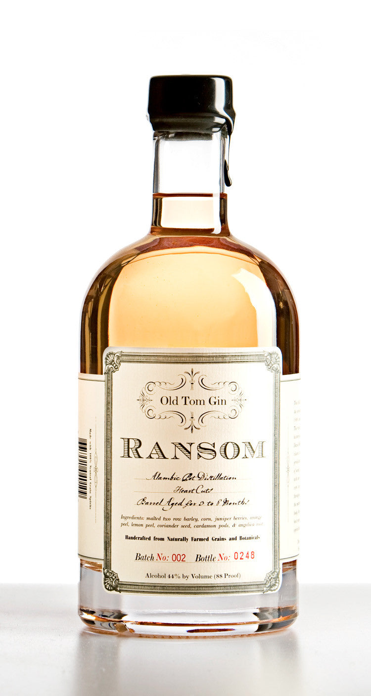 Ransom Old Tom Oaked Gin