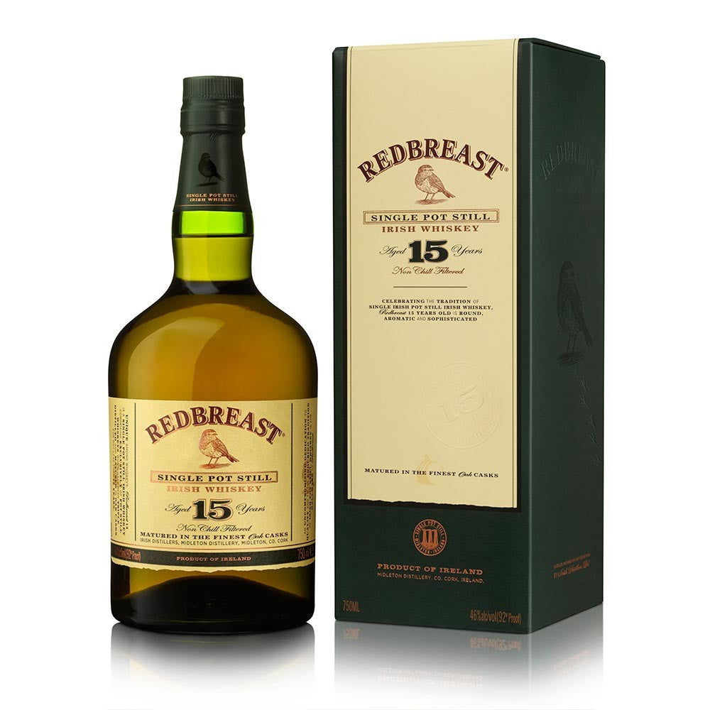 Red Breast 15Yr Irish Whiskey