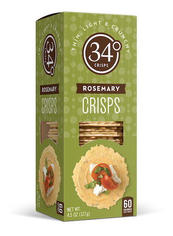 34 Degrees Rosemary Crisps