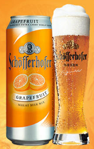 Schofferhofer Grapefruit Heffeweizen 16Oz Can 4Pk