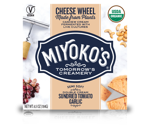Miyoko's Sundried Tomato Garlic Vegan Nut Cheese