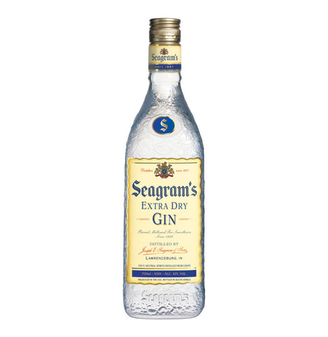 SEAGRAMS GIN EXTRA DRY