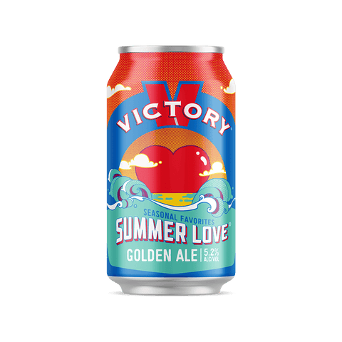 Victory Brewing Company Summer Love Golden Ale 15PK Cans