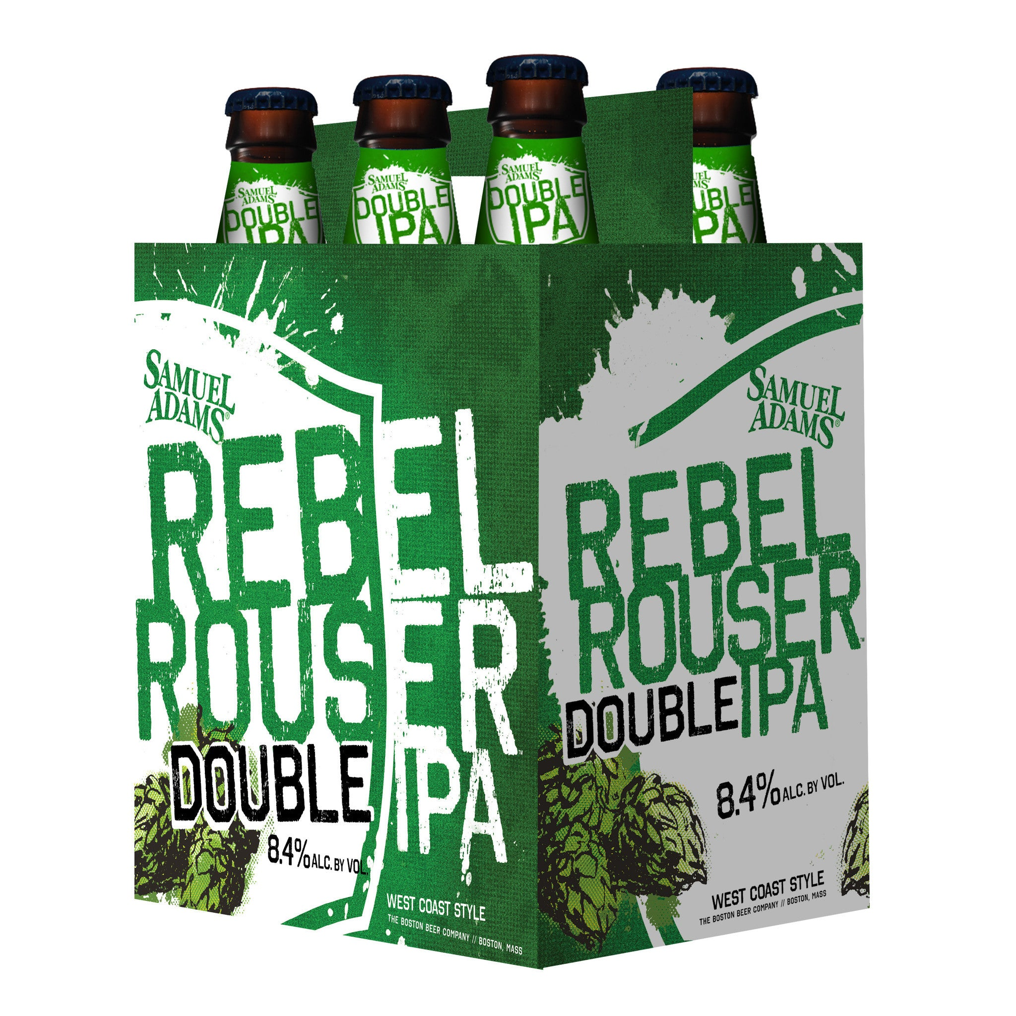 Sam Adams Rebel Rouser Double Ipa 6 Pk