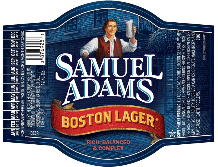 Sam Adams Boston Lager 12 Pk