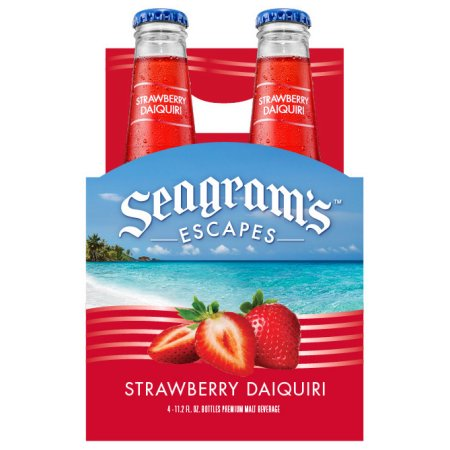 Seagrams Coolers Strawberry Daiquiri 4pk