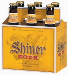 Shiner Bock 6Pk Bottles