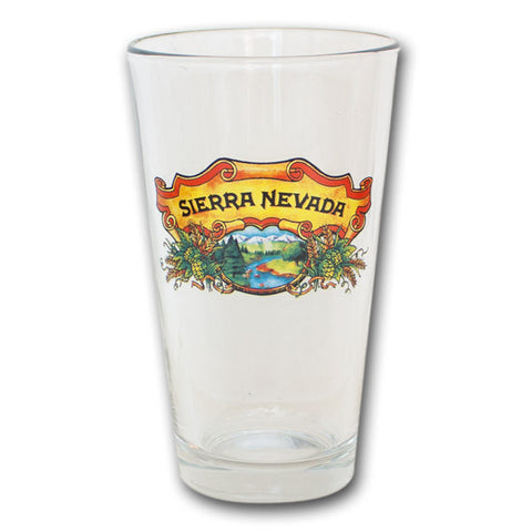 Glass Sierra Nevada Pint 16Oz