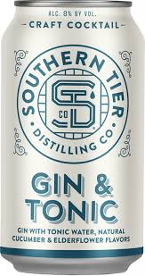 Southern Tier Craft Cocktail Gin & Tonic 4pk Can