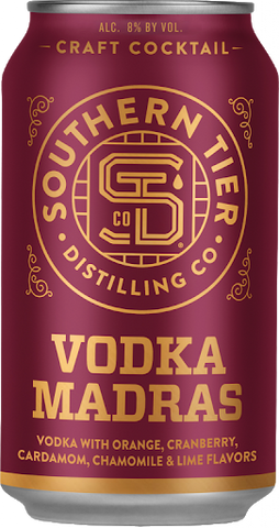 Southern Tier Craft Cocktail Vodka Madras 4pk Can