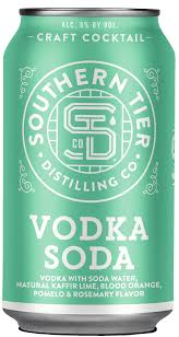 Southern Tier Craft Cocktail Vodka Soda - 4pk Cans
